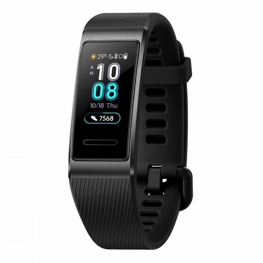Fitness náramok Chytrý náramok Huawei BAND 3 PRO, čierna