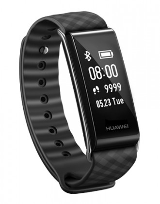 Fitness náramok Chytrý náramok Huawei Colorband 2, čierna