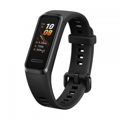 Fitness náramok Smart náramok Huawei Band 4, čierna