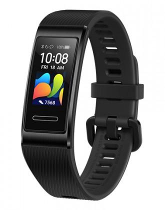 Fitness náramok Smart náramok Huawei Band 4 Pro, čierna