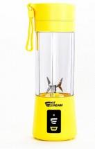 FitStream E1 žltý, prenosný, USB nabíjatelný mixér