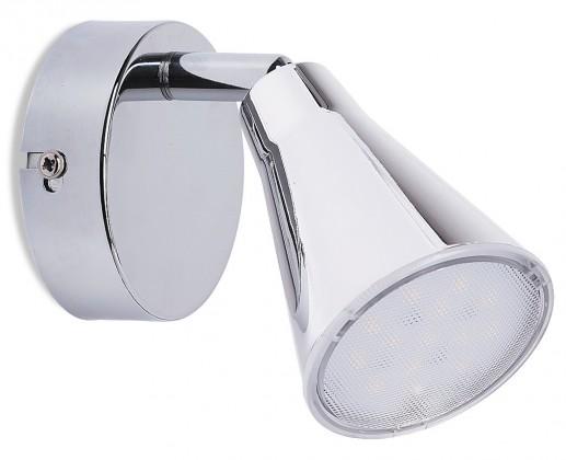 Flaire - Nástenné osvetlenie, 6055 (chromová)