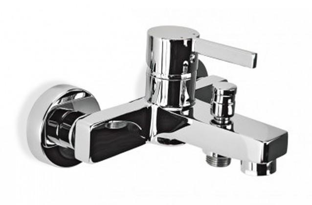 Flaks - Vanová batérie nástenná bez sprchového kompletu (chrom)
