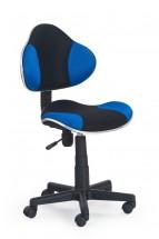 Flash - detská stolička (modro-čierna)