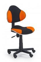 Flash - detská stolička (oranžovo-čierna)