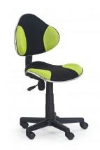 Flash - detská stolička (zeleno-čierna)