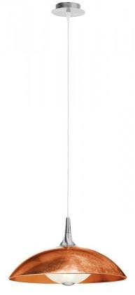Flat - E27, 100W, A1304.31.6.CU/45 (strieborná)