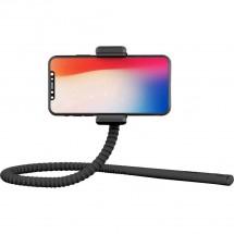 Flexibilná selfie tyč Zbam GEKKOSTICK, multifunkčný,46cm, čierna