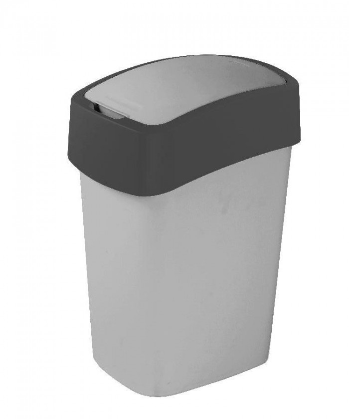 FLIPBIN, 25l (plast,sivá)