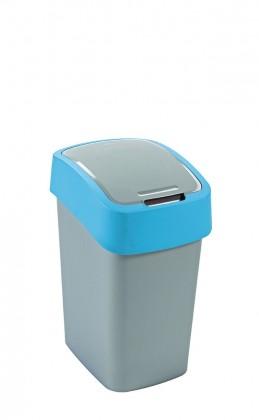 FLIPBIN, 25l (plast,sivo-modrý)