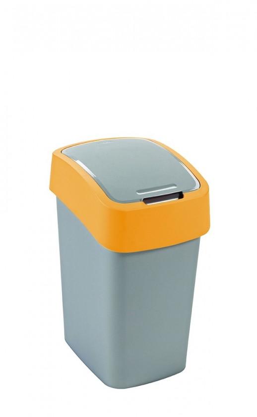 FLIPBIN, 25l (plast,sivo-oranžový)
