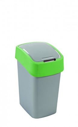 FLIPBIN, 25l (plast,sivo-zelený)