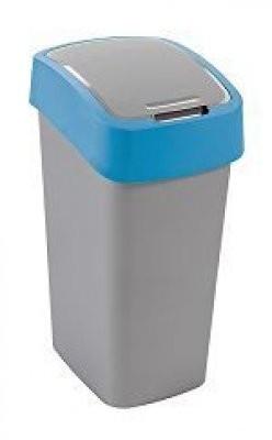 FLIPBIN, 50l (plast,sivo-modrý)