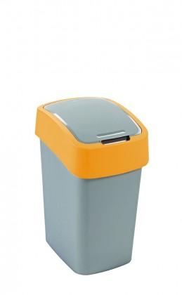FLIPBIN, 50l (plast,sivo-oranžový)