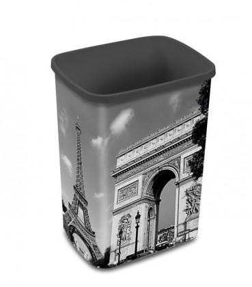 FLIPBIN PARIS, bez veka, 25l (plast,Paris)