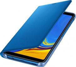 Flipové púzdro Samsung Galaxy A7 (2018) modré