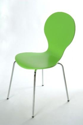 Flower - Jedálenská stolička (zelená)