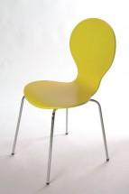 Flower - Jedálenská stolička (žltá)