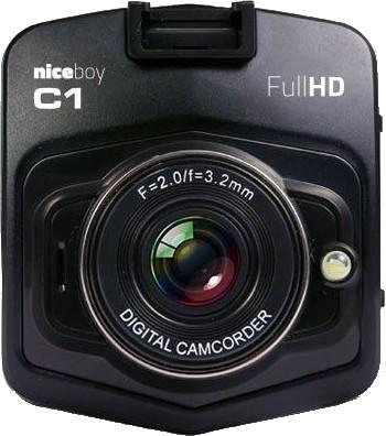 Foto, kamery ZLACNENÉ Autokamera Niceboy C1, Full HD, ZÁNOVNÉ