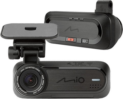 Foto zľavnené Autokamera Mio MiVue J85, 2,5K, záber 150°, GPS, ADAS, Wifi POUŽI