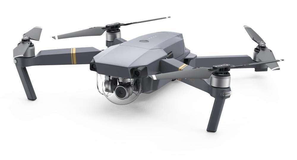 Foto zľavnené DJI dron Mavic Pro - kvadrokoptéra Combo , DJIS0200C NEKOMPLETNÉ