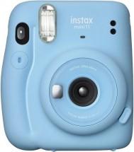 Fotoaparát Fujifilm Instax Mini 11, modrá + Small bundle