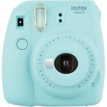 Fotoaparát Fujifilm Instax MINI 9, svetlo modrá POUŽITÉ, NEOPOTRE