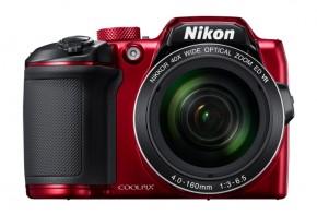 Fotoaparát Nikon Coolpix B500, červená