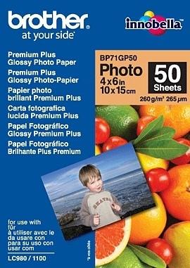 Fotopapier Brother BP71GP50 lesklý fotopapier 50 listov