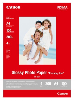 Fotopapier Canon GP-501 A4 Glossy (0775B001)