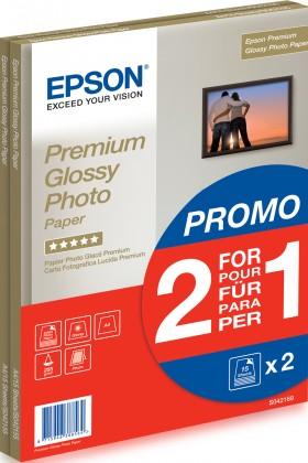 Fotopapier EPSON Paper A4 Premium Glossy Photo 255g/m2 (2x15 sheet) 2 za cen