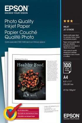 Fotopapier Epson Photo Quality A4,100 listů (C13S041061) biely