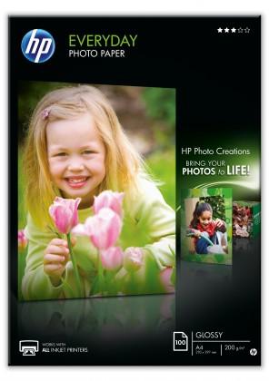 Fotopapier Fotopapier HP Everyday Glossy, A4, 100ks