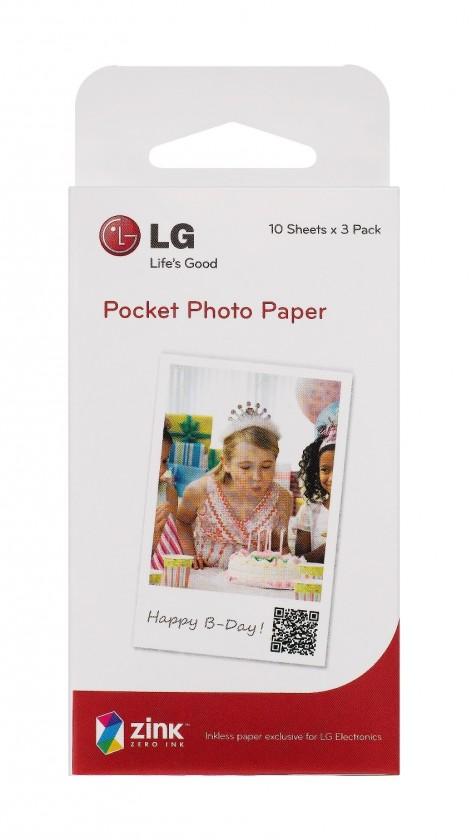 Fotopapier  Náhradní balení papíru pro LG PD 233