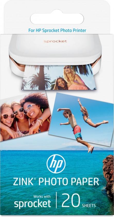 Fotopapier Samolepiace fotopapier HP ZINK Sprocket W4Z13A