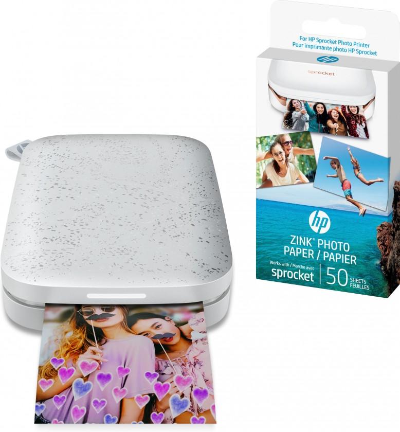 Fototlačiarne Fototlačiareň HP Sprocket 200 Photo Printer Black, 1AS86A#637