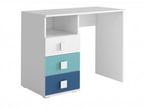 FOX 08 - Pracovný stôl (modrá)