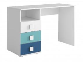 FOX 09 - Pracovný stôl (modrá)