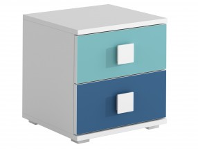 FOX 12 - Nočný stolík (modrá)