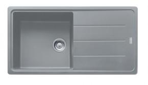 Franke - drez Fragranit BFG 611, 970x500 (sivý kameň)