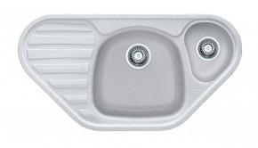 Franke - drez Fragranit COG 651 E, 960x500 (biela-ľad)