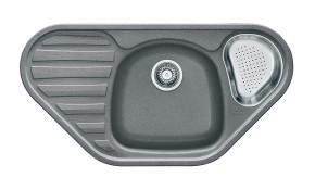 Franke - drez Fragranit COG 651 E, 960x500 (sivý kameň)