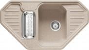 Franke - drez Fragranit EFG 682 E, 905x505 (sahara)