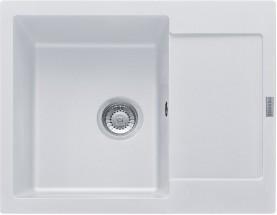 Franke - drez Fragranit MRG 611-62, 620x500, (biela-ľad)