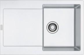 Franke - drez Fragranit MRG 611, 780x500 (biela-ľad)