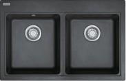 Franke - drez Fragranit MRG 620, 800x520 mm (grafit)