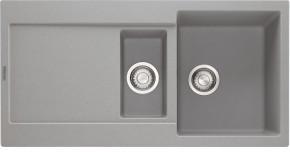 Franke - drez Fragranit MRG 651, 970x500 (sivý kameň)