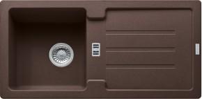 Franke - drez Fragranit STG 614, 860x435mm (tmavo hnedá)