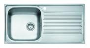 Franke - drez nerez GOX 611-100 2 3 1/2, 1000x510mm (strieborná)
