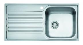Franke - drez nerez GOX 611-100 7 3 1/2, 1000x510mm (strieborná)